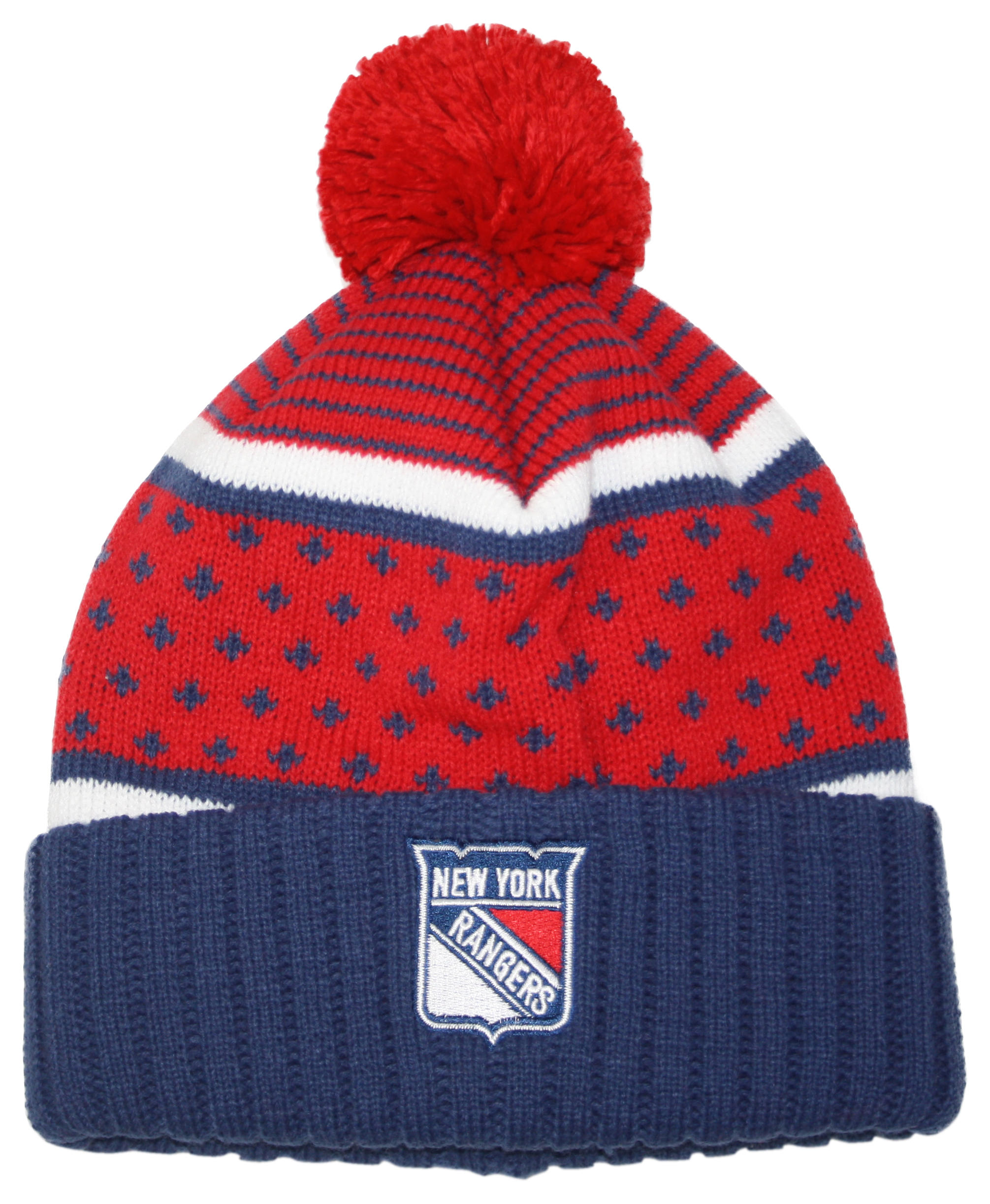 4a684ca20 The Highlands Cuffed Pom Beanie New York Rangers