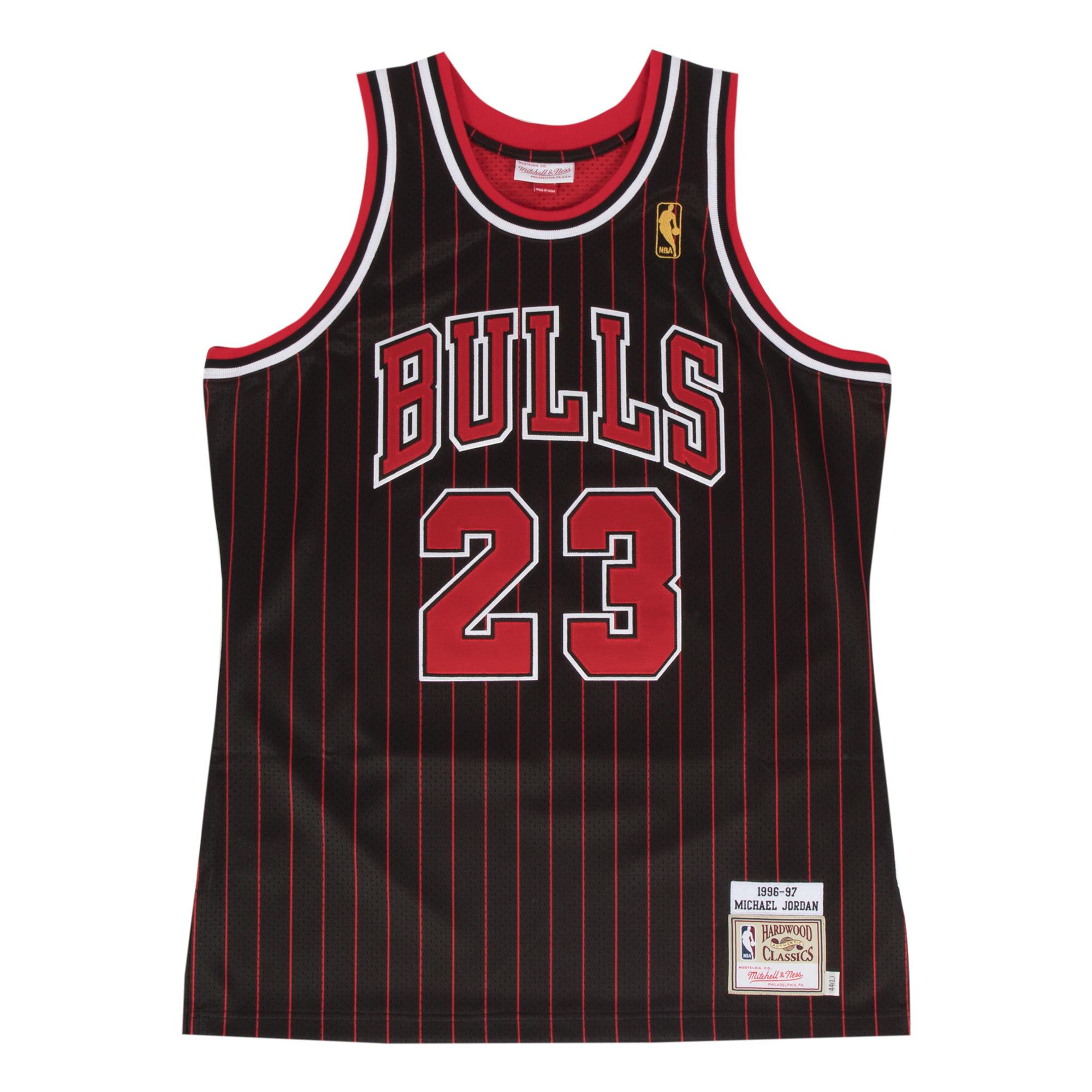 c1cb3478dd87 ... Michael Jordan 1996-97 Authentic Jersey Our Price  £200.00