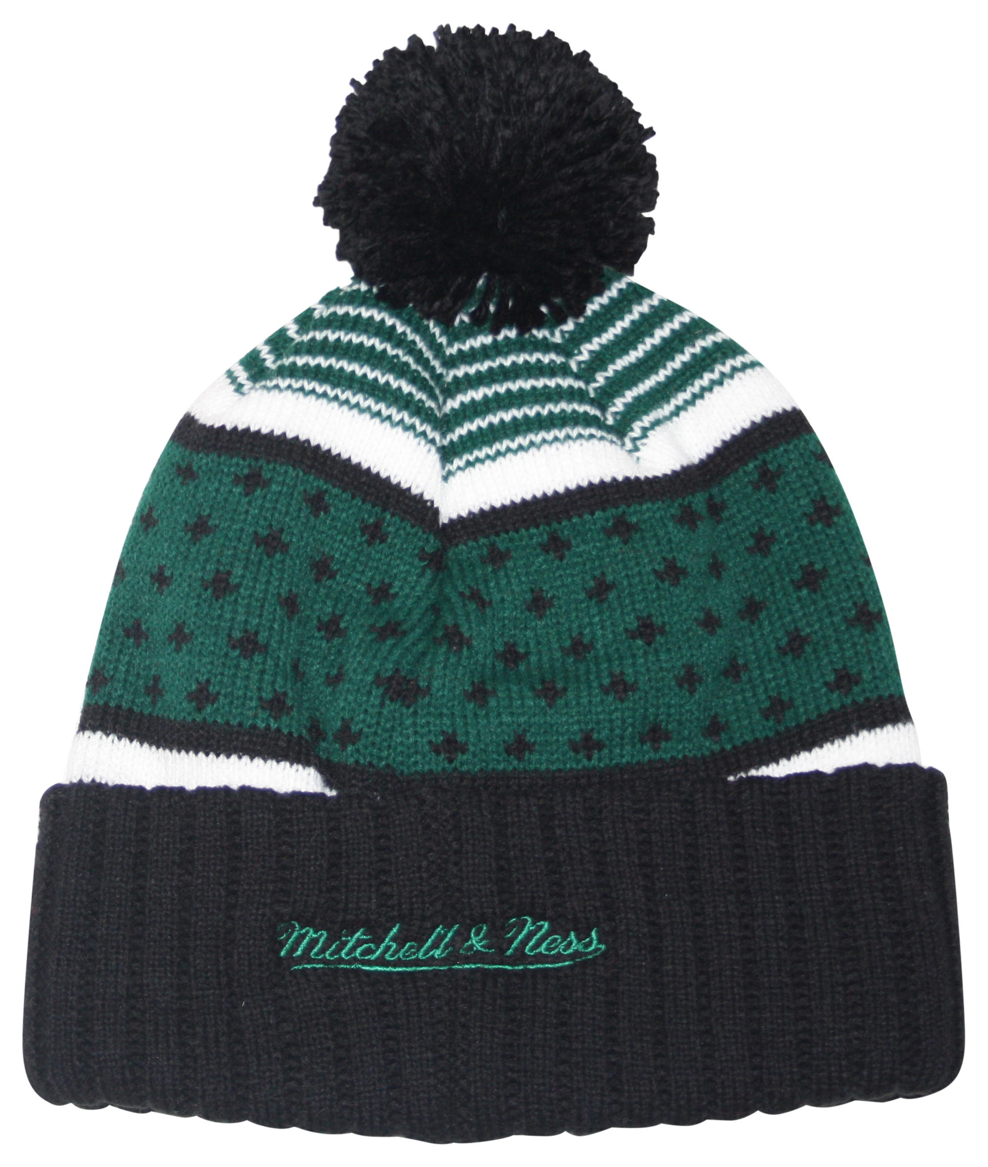e9ecce0ac The Highlands Cuffed Pom Beanie Boston Celtics