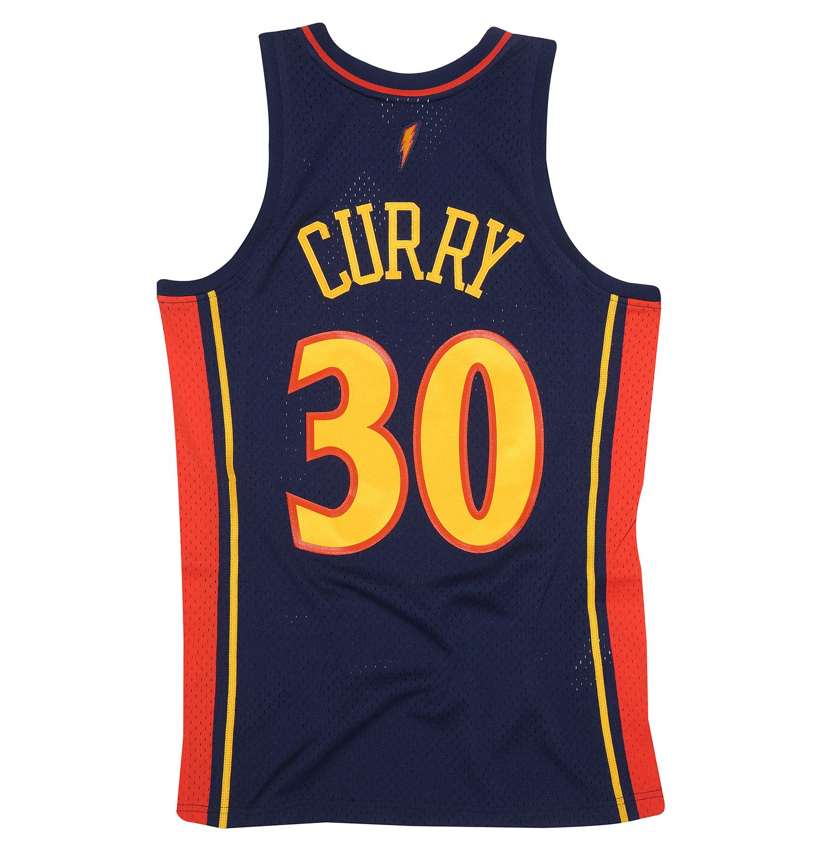 15f1fe99866 Mitchell & Ness | Stephen Curry 2009-10 Golden State Warriors ...
