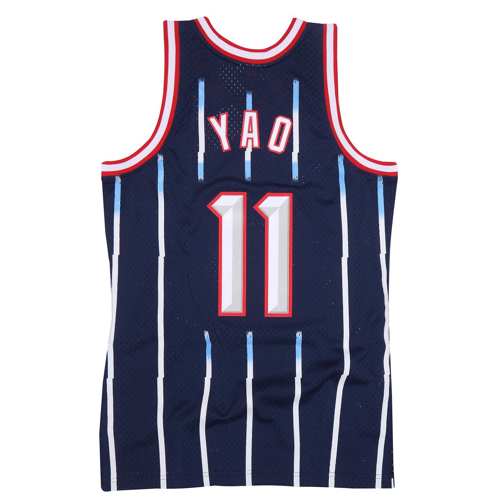 Houston Rockets Jersey Uk: Yao Ming 2002-03 Road Swingman Jersey