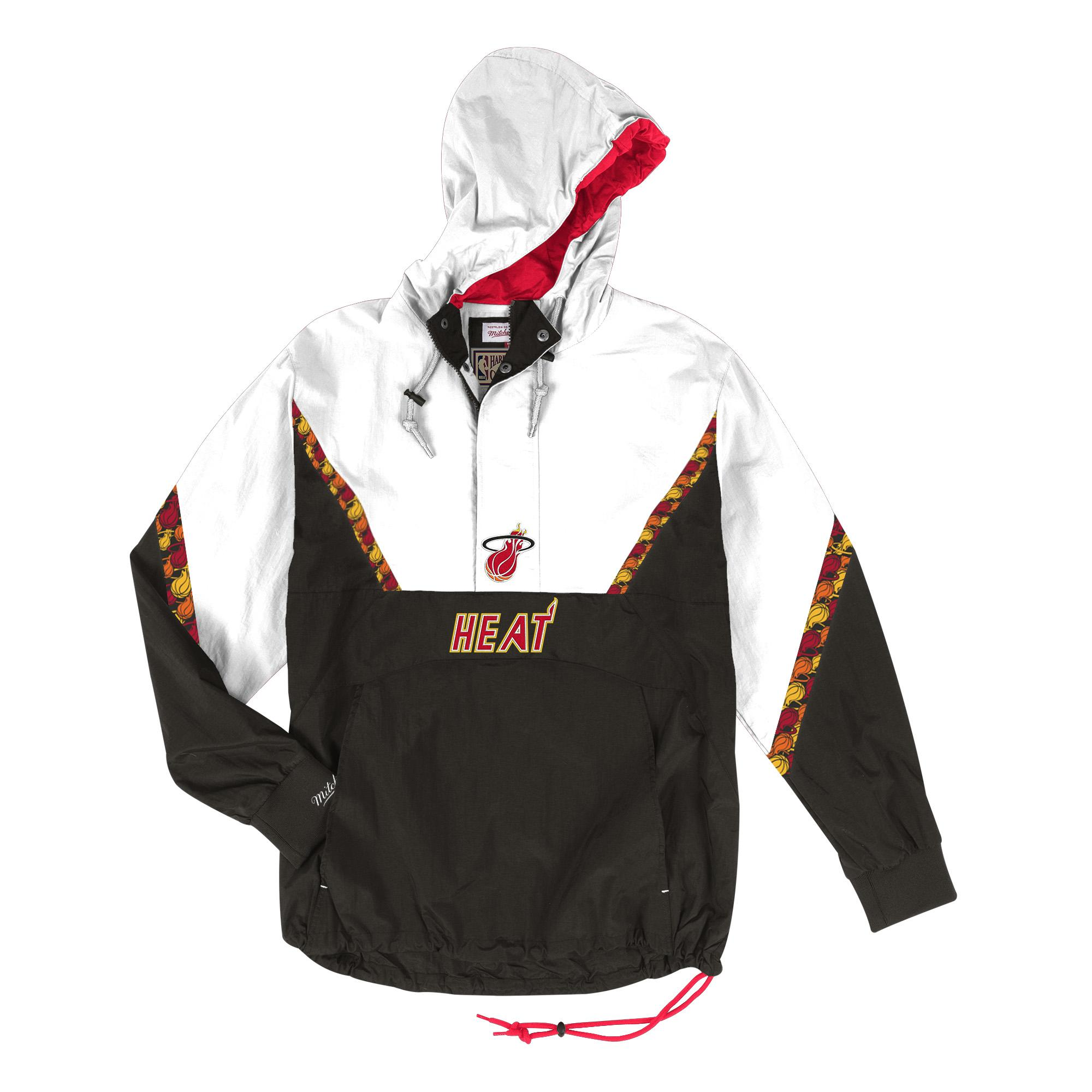 sports shoes 1a0e2 fe69b NBA Half Zip Team Colour Anorak Miami Heat £57.00 £95.00