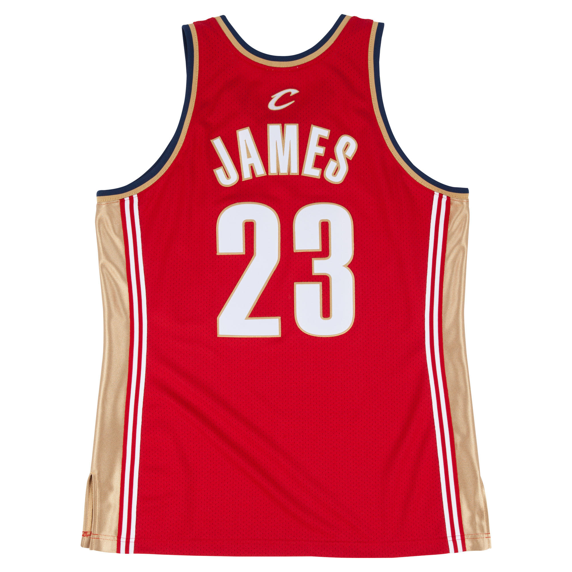 low priced 1b89e 52b73 2003-04 Lebron James Authentic Jersey Cleveland Cavaliers ...