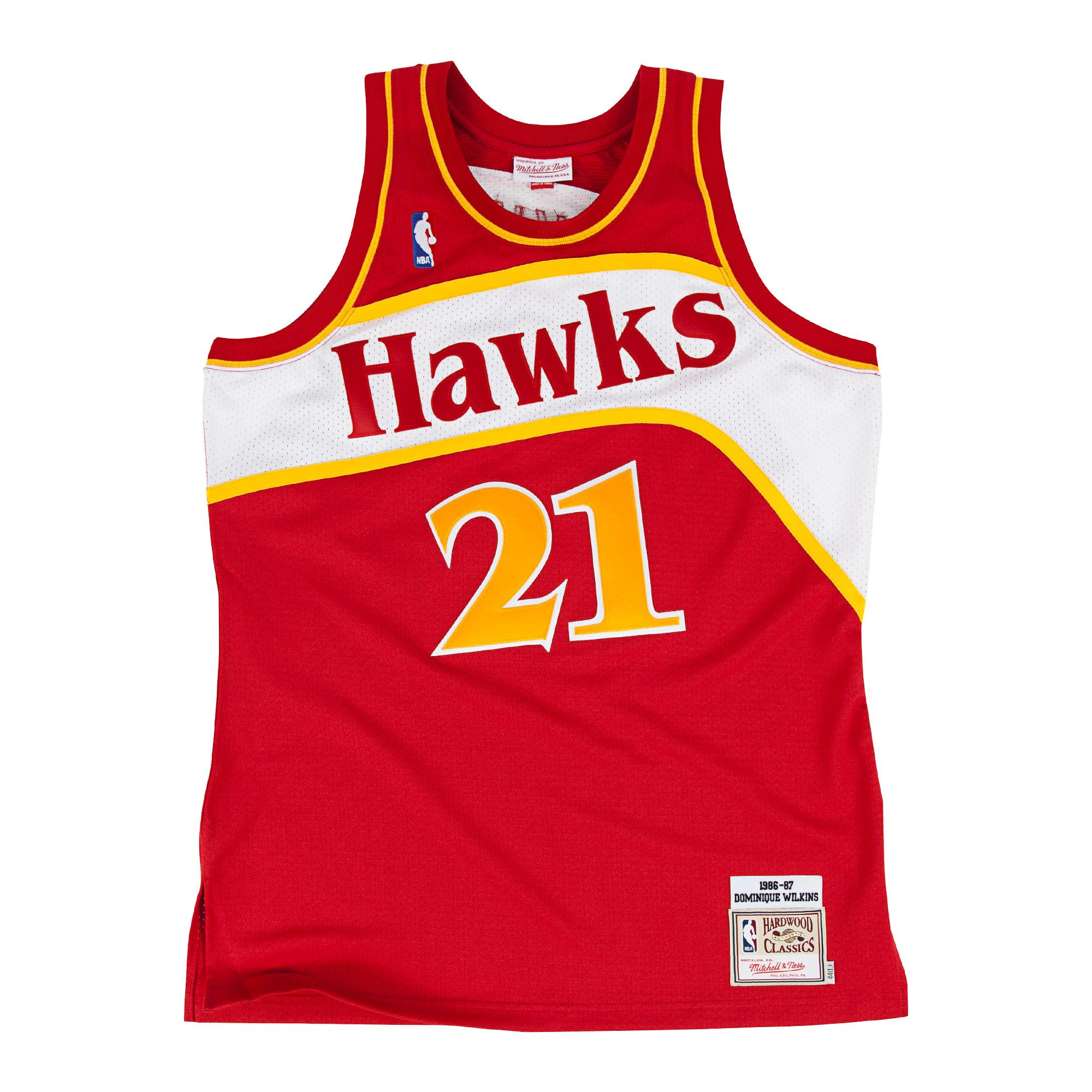 Dominique Wilkins 1986-87 Road Authentic Jersey Our Price  £200.00 ... 904ca9869