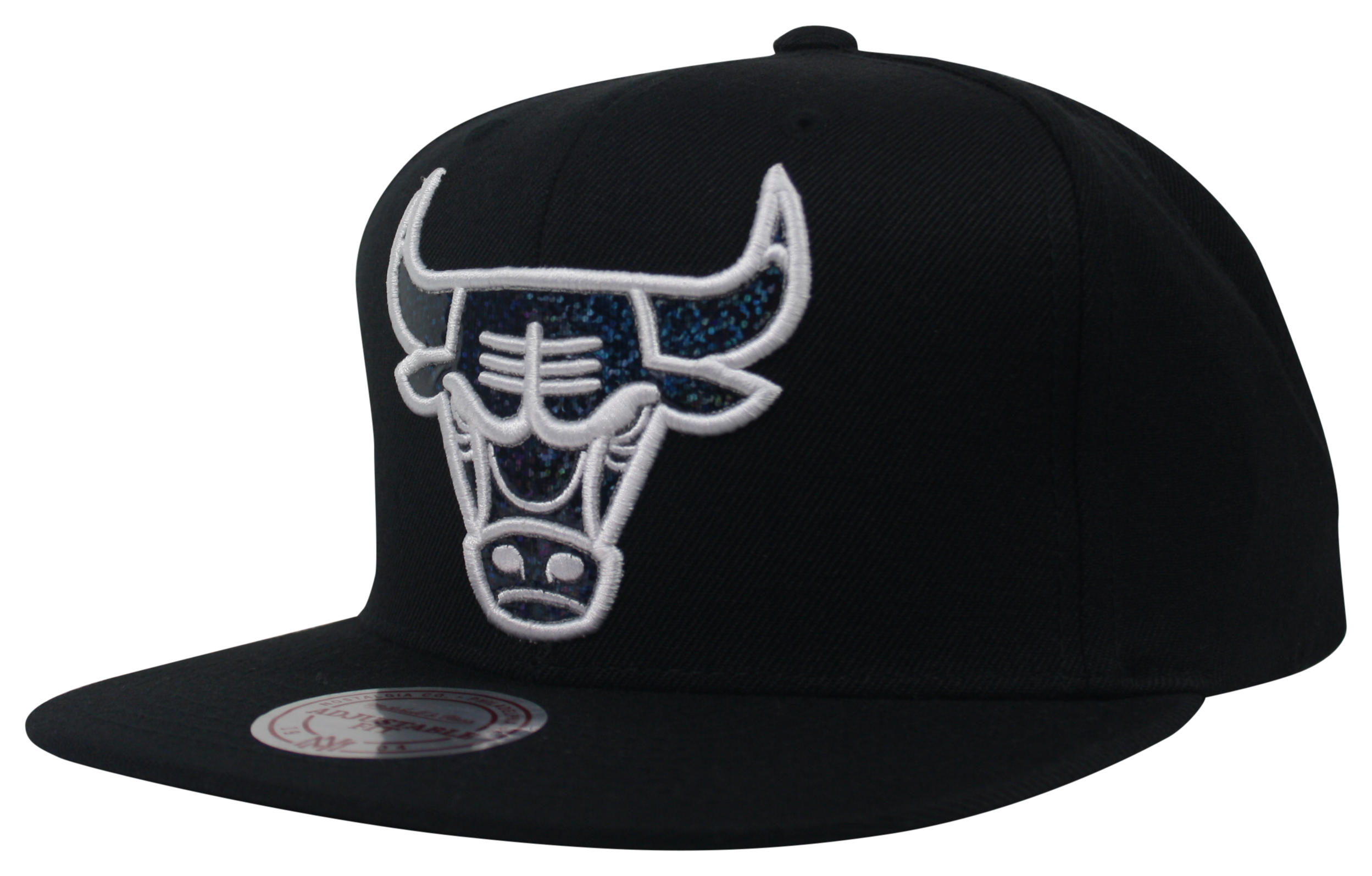 4fb71e46ea6e9 Dark Hologram Snapback Chicago Bulls