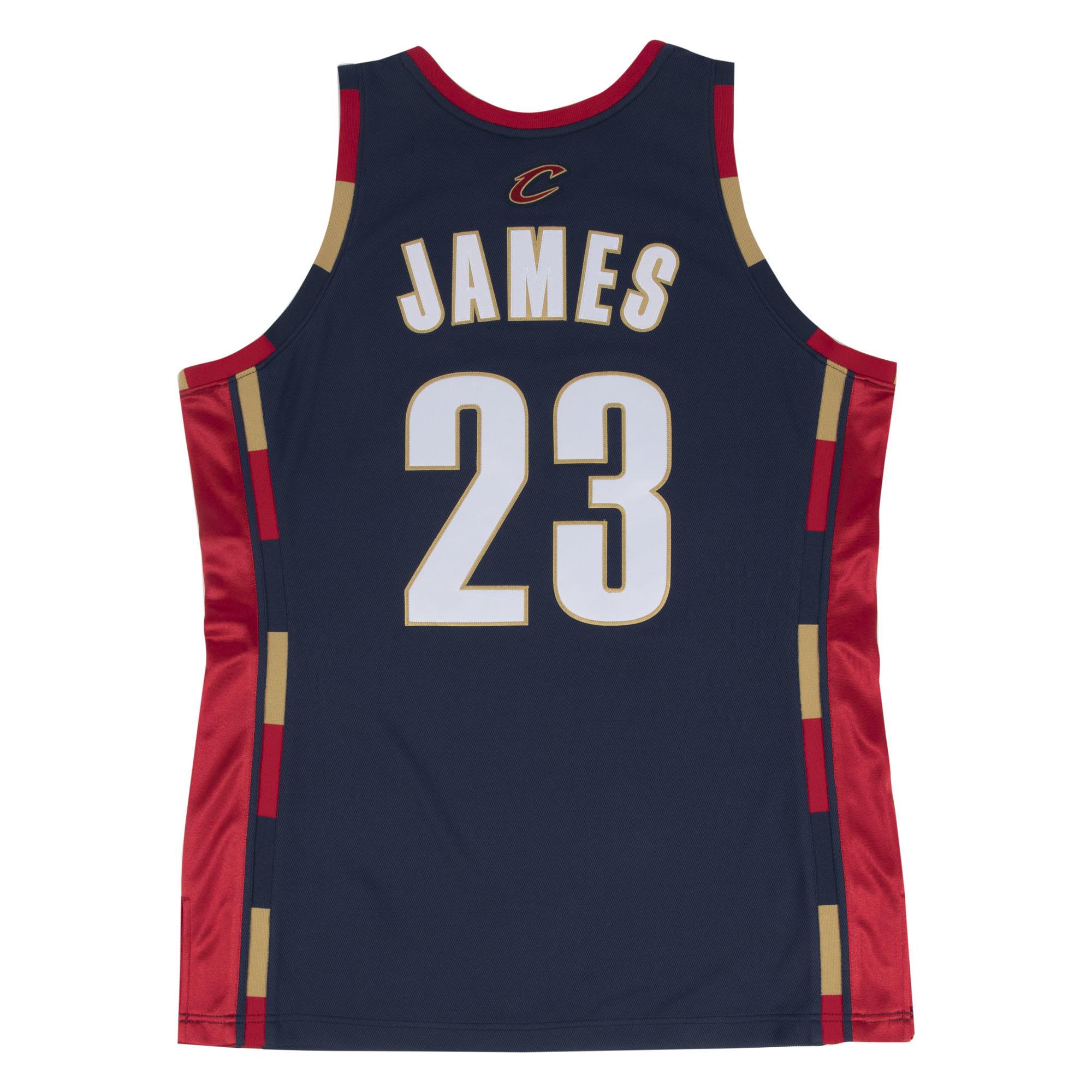 premium selection 5eab5 d87b5 Mitchell & Ness Nostalgia Co. | LeBron James 2008-09 ...