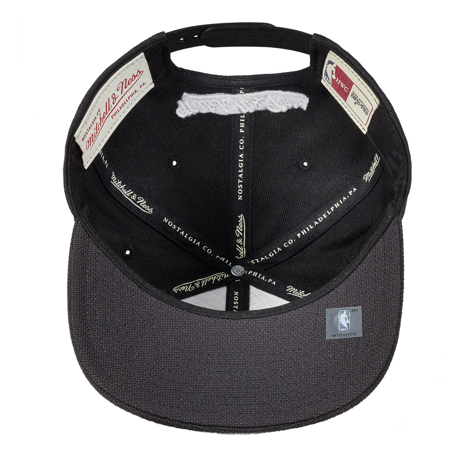 huge discount 57c69 a8398 Mitchell   Ness Nostalgia Co.   Full Dollar Snapback - San Antonio Spurs