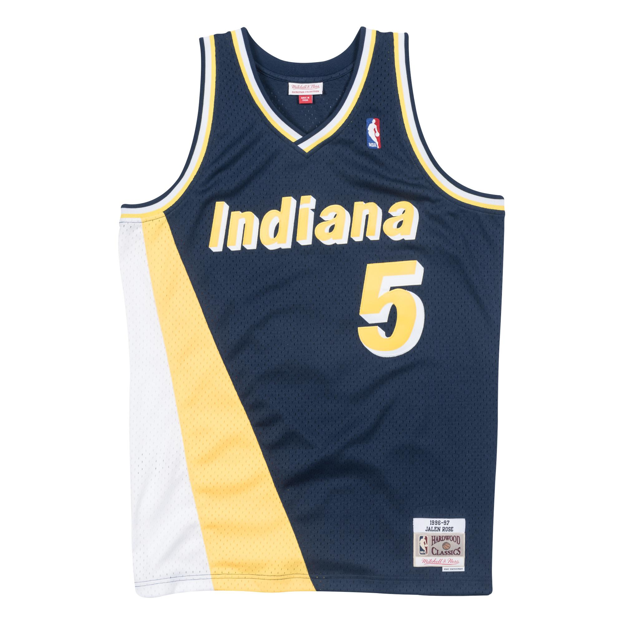 Jalen Rose 1996-97 Road Swingman Jersey Indiana Pacers £90.00 3db1c058a