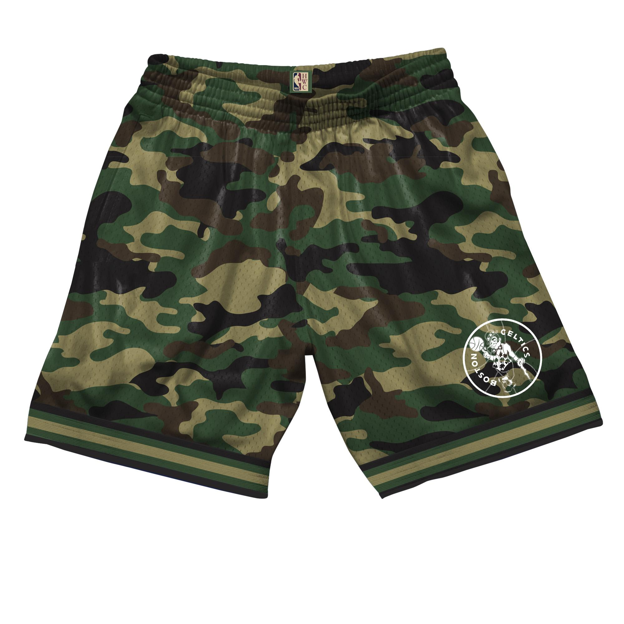 b758f0f8a NBA Camo Mesh Shorts Boston Celtics £55.00