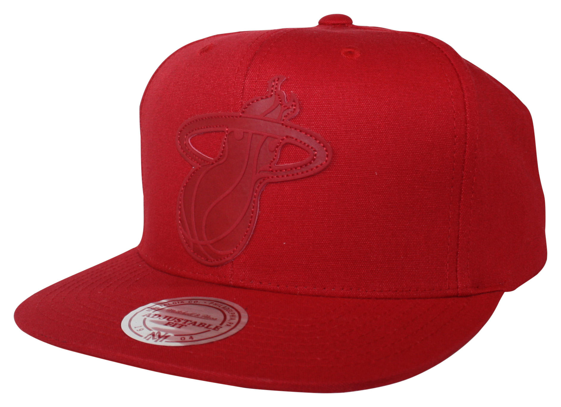 Hot Stamp Snapback Miami Heat 4c527246ba6
