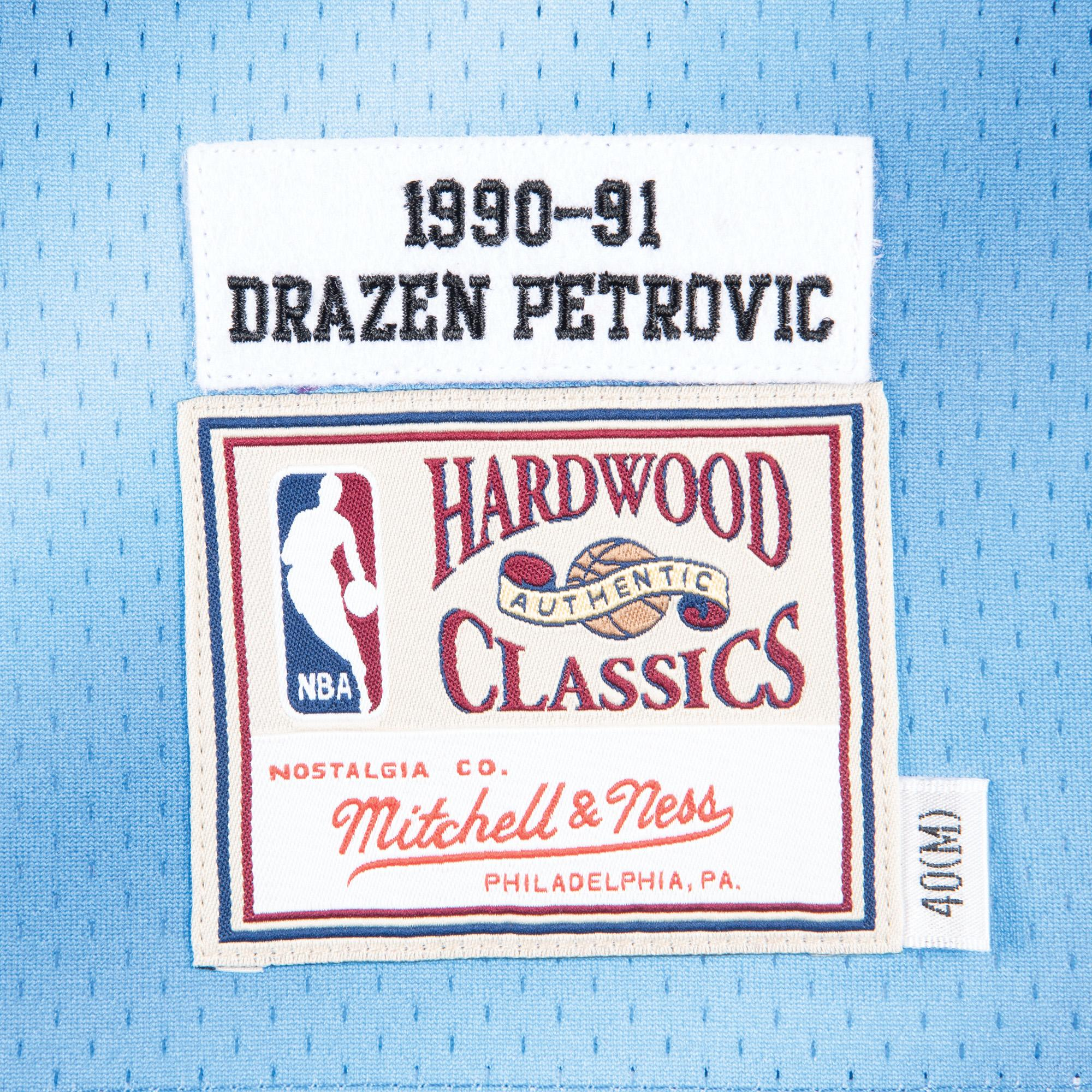 big sale e92b7 d685c Mitchell & Ness Nostalgia Co. | Drazen Petrovic 1990-91 New ...