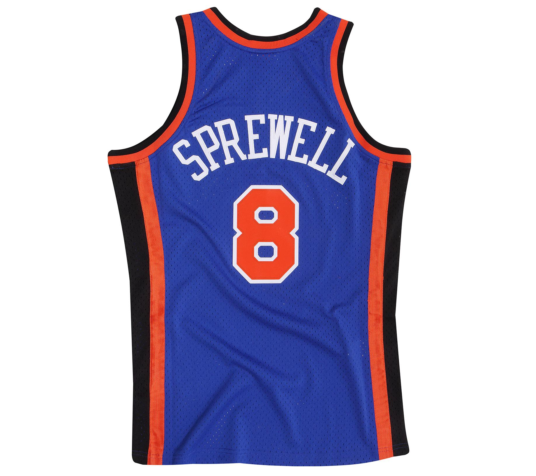 sneakers for cheap fa03e b1b2d Mitchell & Ness | Latrell Sprewell 1998-99 Road Swingman Jersey