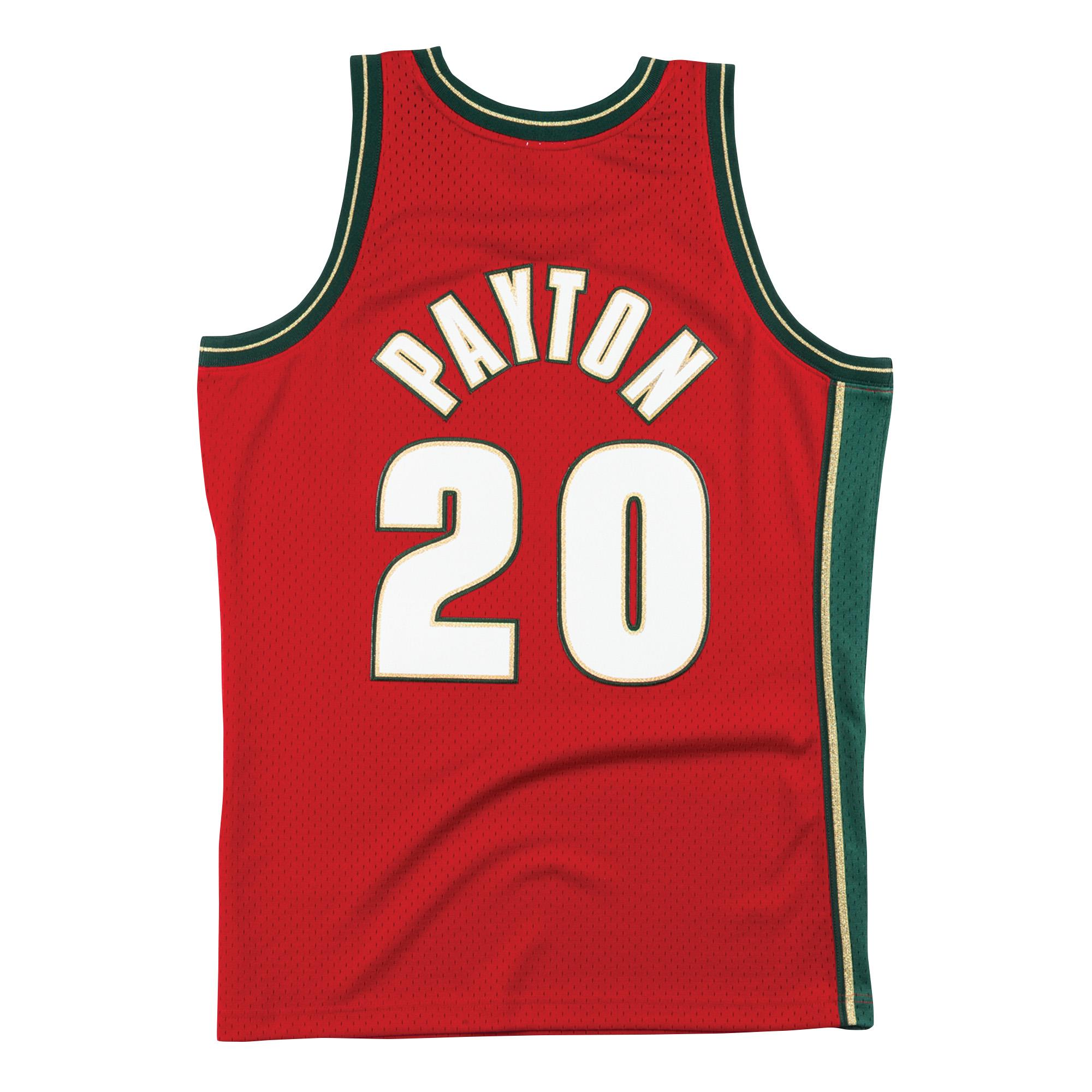 buy online c585d ede2e Mitchell & Ness   Chinese New Year Seattle Supersonics ...