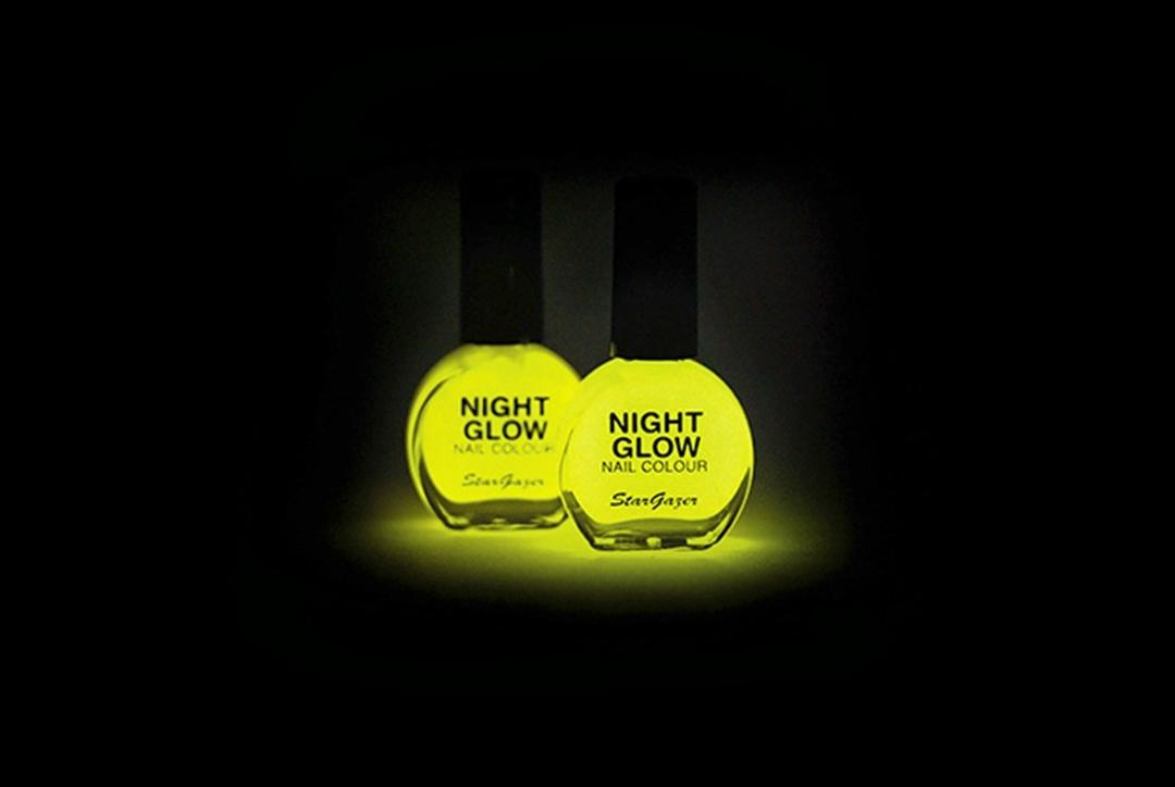Stargazer | Night Glow Nail Polish - Example Image