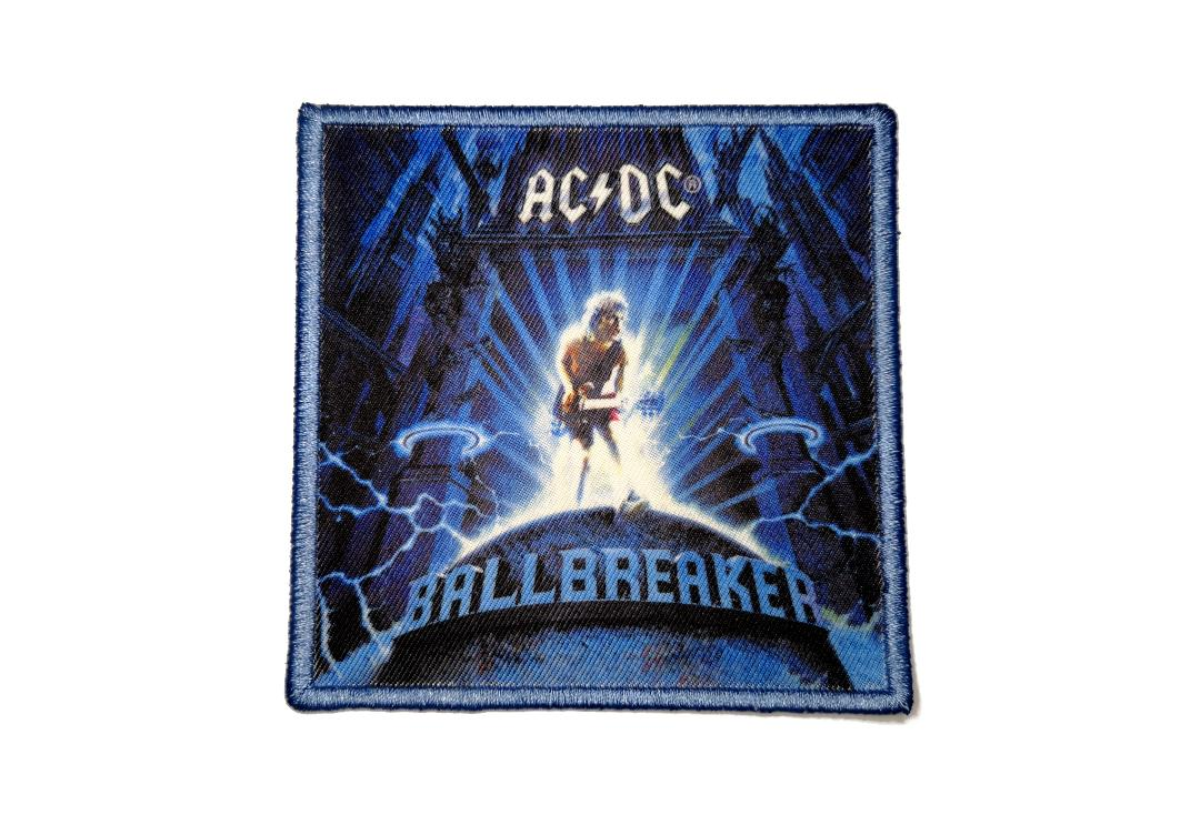 Official Band Merch | AC/DC - Ballbreaker Album Cover Woven Patch