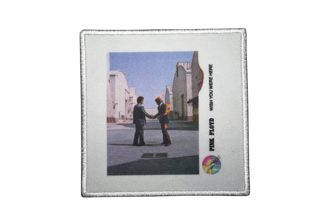 Official Band Merch | Pink Floyd - Wish You Were Here Vinyl Album Cover Woven Patch