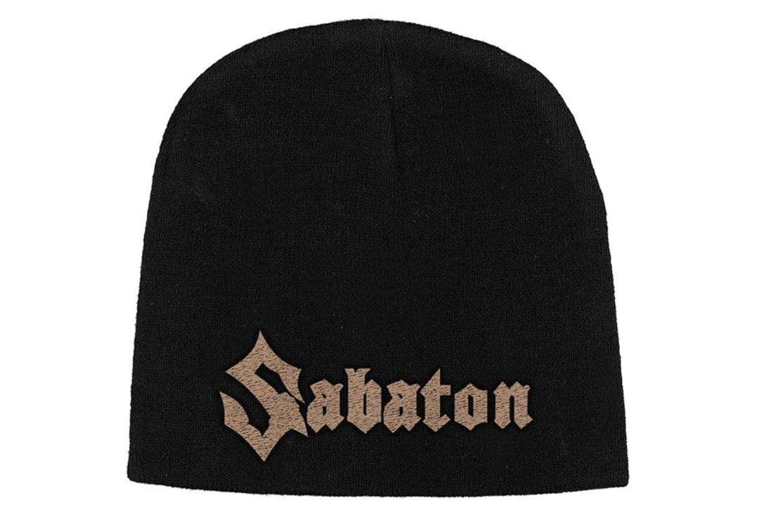 Official Band Merch | Sabaton - Logo Embroidered Official Knitted Beanie Hat