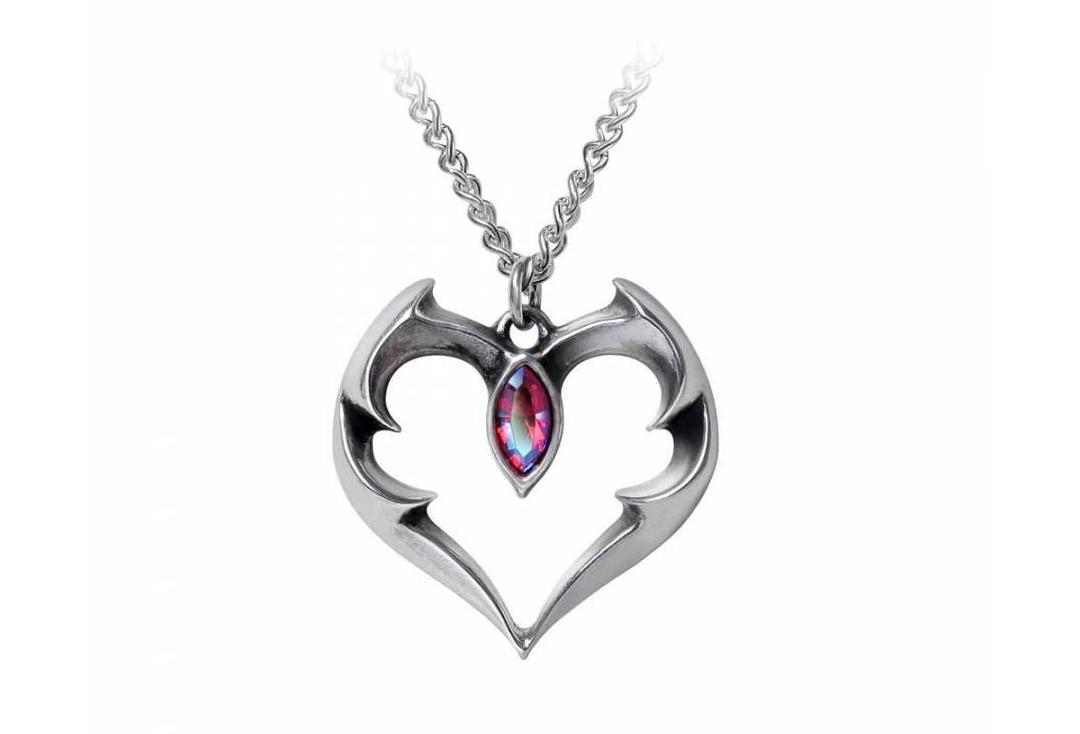 Alchemy Gothic | Batheart - The Vampire's Kiss Necklace - Main