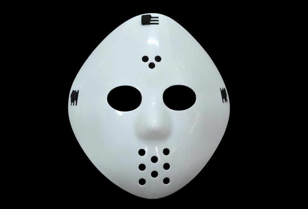 Void | White Acrylic Hockey Mask