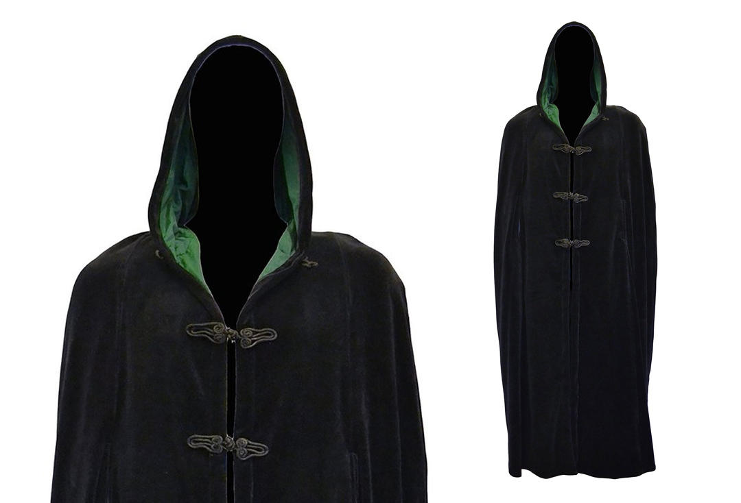 Dark Star By Jordash | Full Length Cotton Velour Hood Cape DS/JK/9694 - Close Up