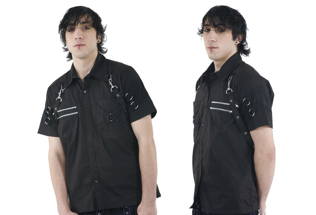 Dead Threads | Strap Detail 8972 Short Sleeve Shirt