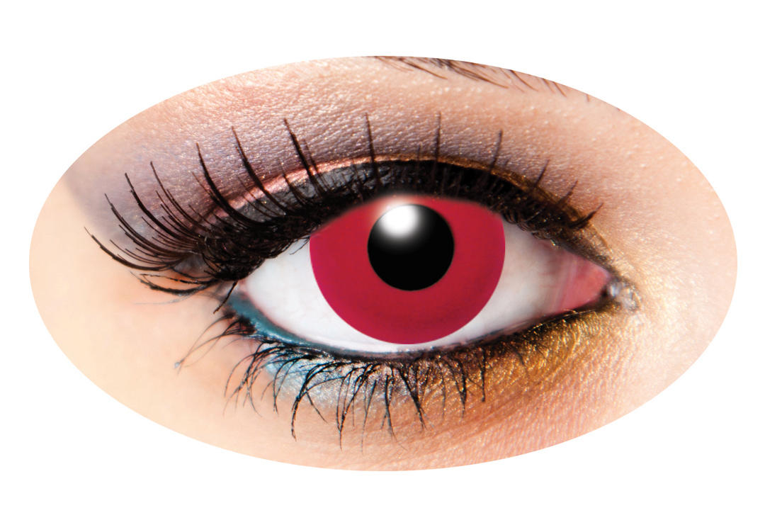 Innovision | Red Solid Tone 1 Day Contact Lenses
