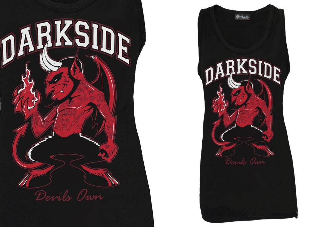 Darkside | Devil's Own Unisex Vest - Front