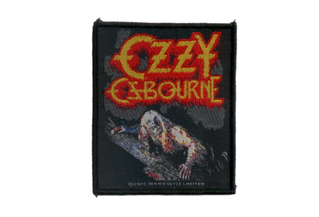 Official Band Merch | Ozzy Osbourne - Bark At The Moon Woven Sew On Patch