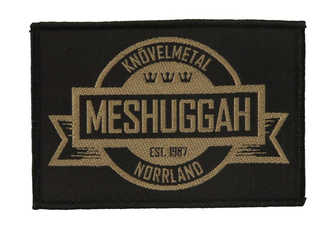 Official Band Merch | Meshuggah - Crest Woven Patch