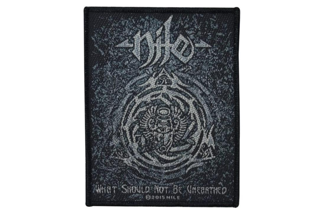 Official Band Merch | Nile - What Should Not Be Unearthed Woven Patch
