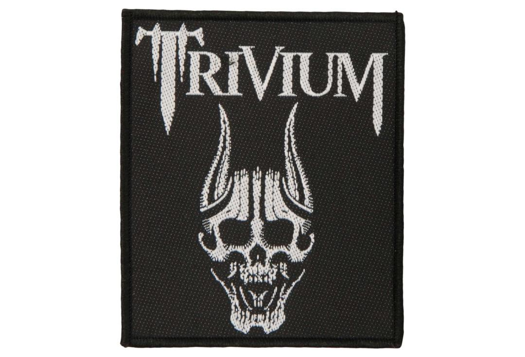 Official Band Merch | Trivium - Screaming Skull Woven Patch