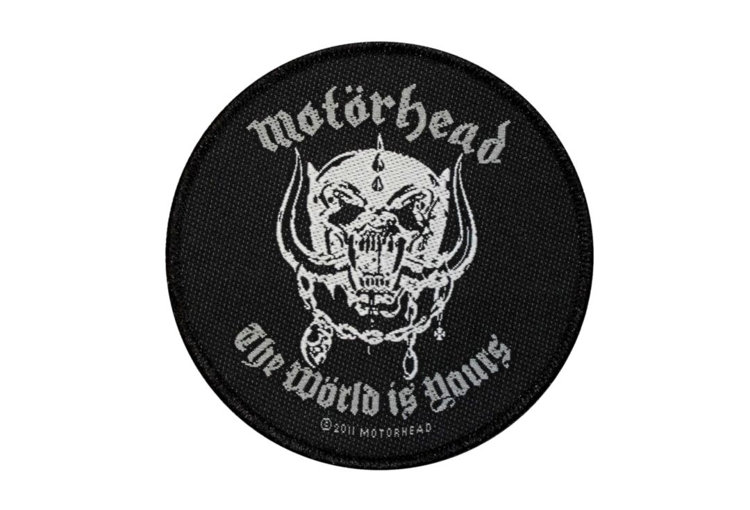 Official Band Merch | Motorhead - The World Is Yours Woven Patch