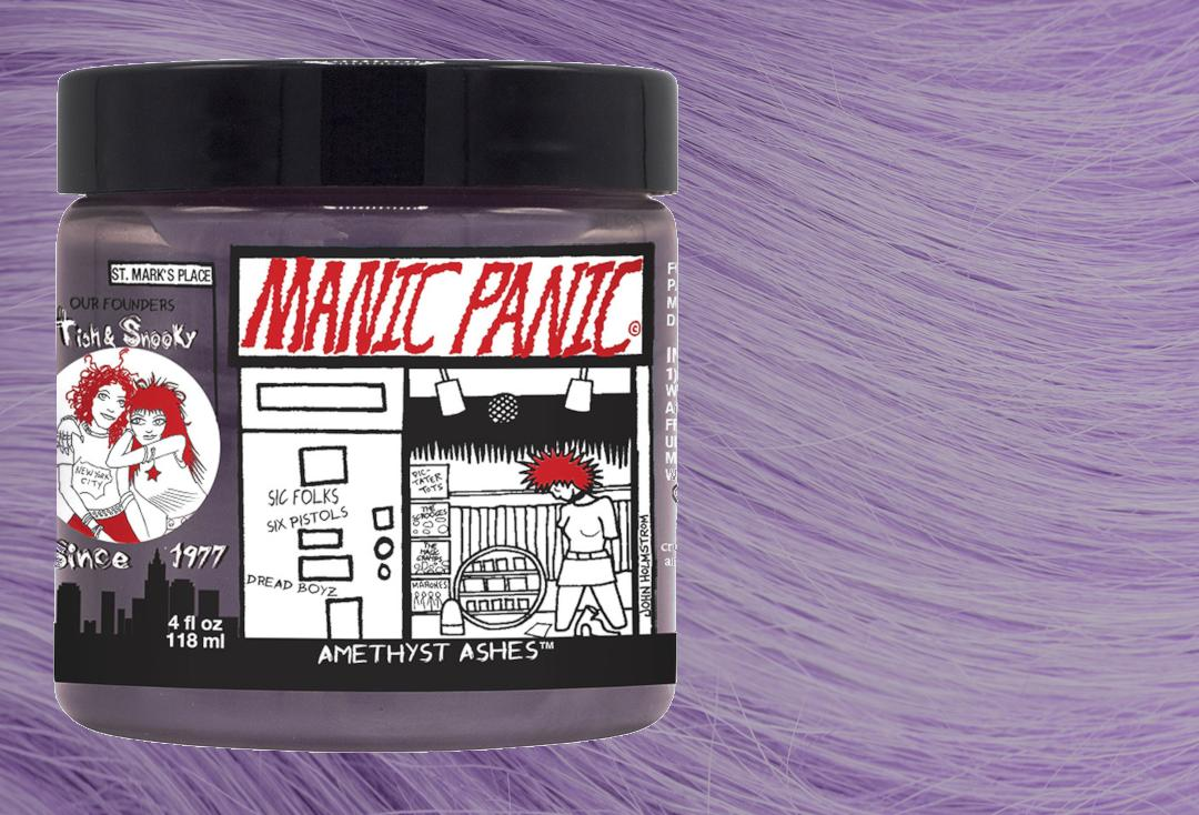 Manic Panic | Amethyst Ashes - High Voltage Classic Cream Hair Colour