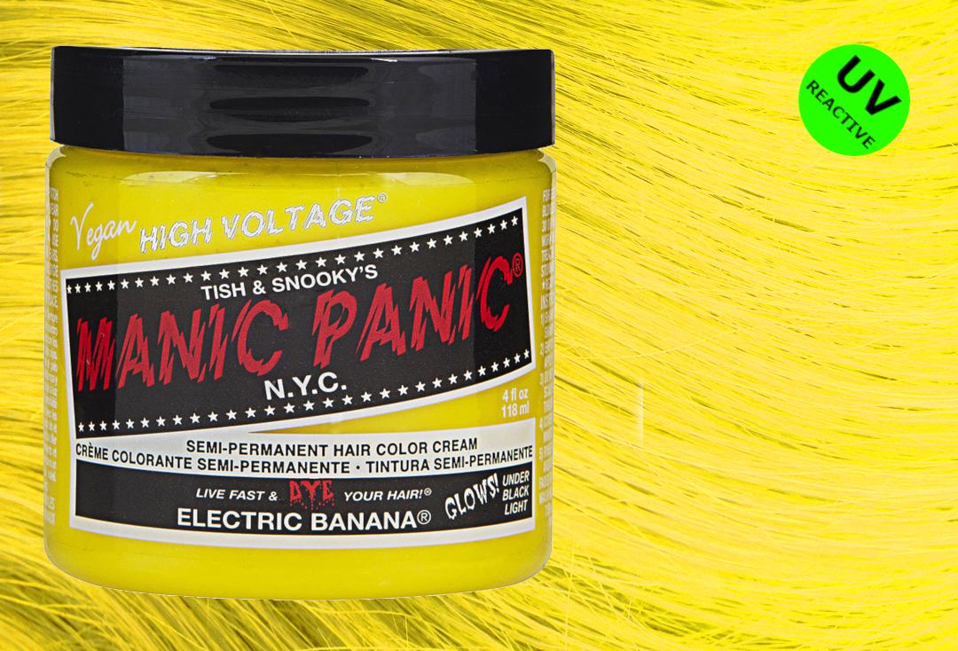 Manic Panic | Electric Banana High Voltage Classic Cream Hair Colour