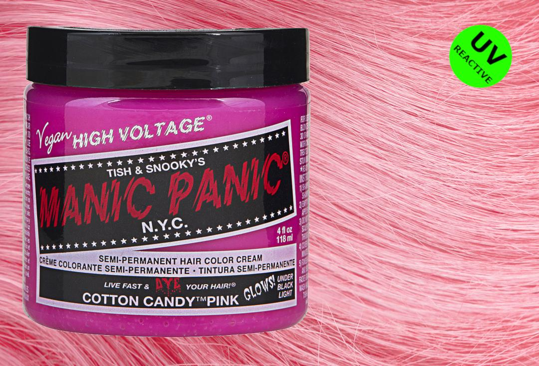 Manic Panic | Cotton Candy Pink High Voltage Classic Cream Hair Colour