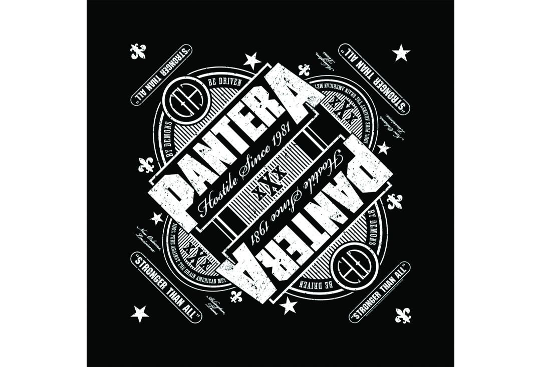 Official Band Merch | Pantera - Stronger Than All Official Bandana