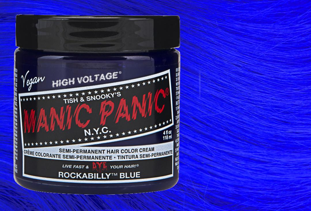 Manic Panic | Rockabilly Blue High Voltage Classic Cream Hair Colour
