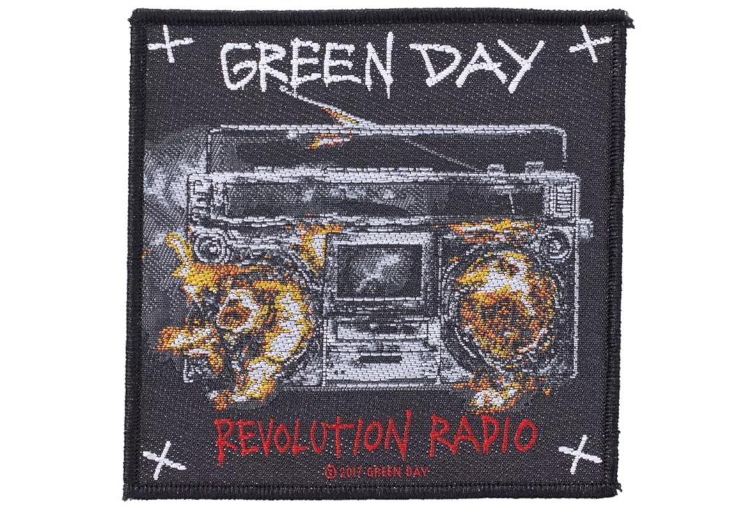 Official Band Merch | Green Day - Revolution Radio Woven Patch