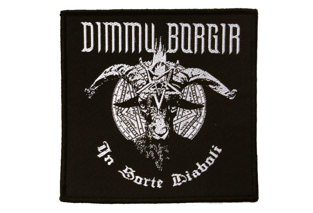 Official Band Merch | Dimmu Borgir - In Sorte Diaboli Woven Patch