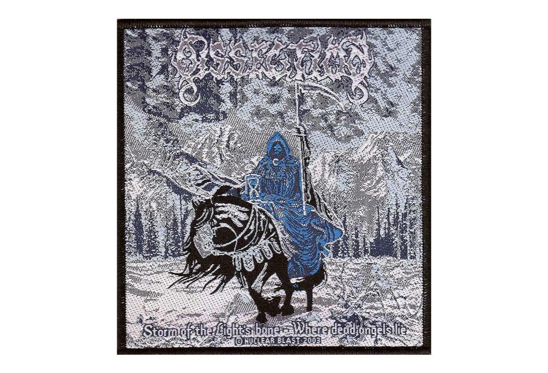 Official Band Merch | Dissection - Storm Of The Light's Bane Where Dead Angels Lie Woven Patch