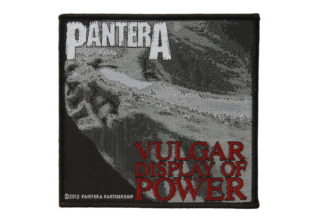 Official Band Merch | Pantera - Vulgar Display Of Power Woven Patch