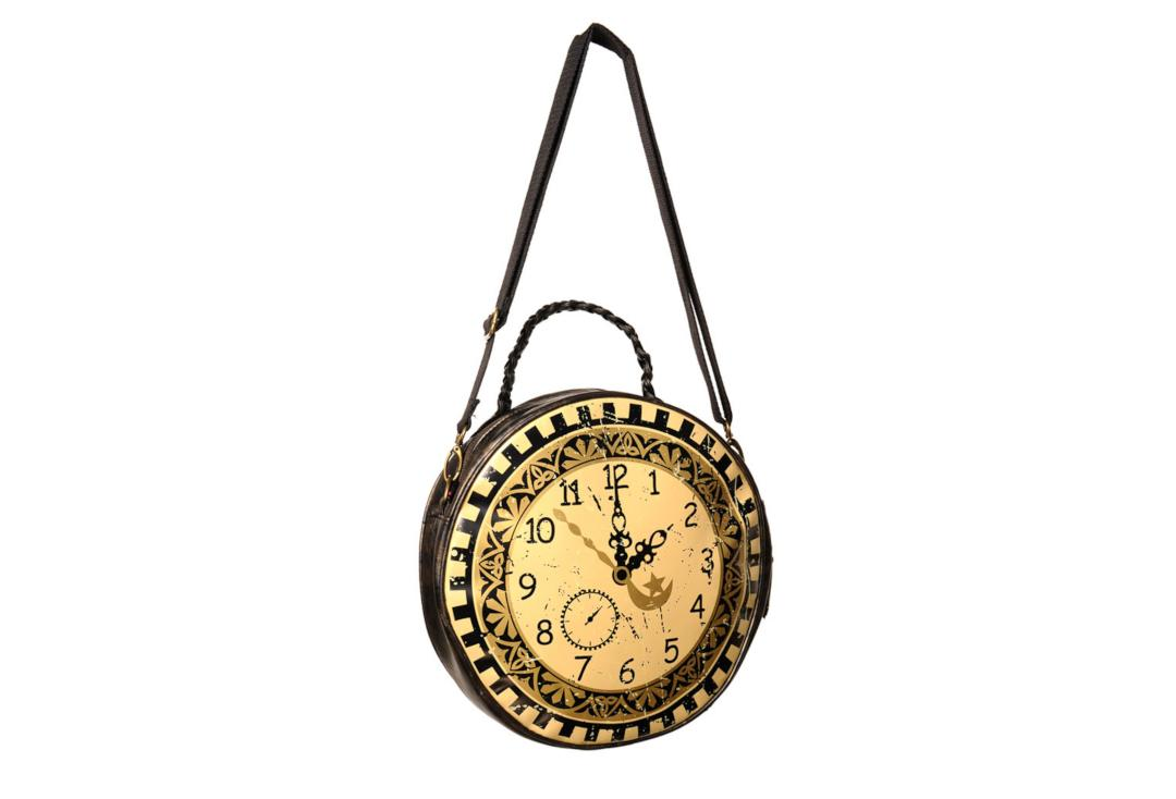 Banned | Circular Clock Bag - Front View