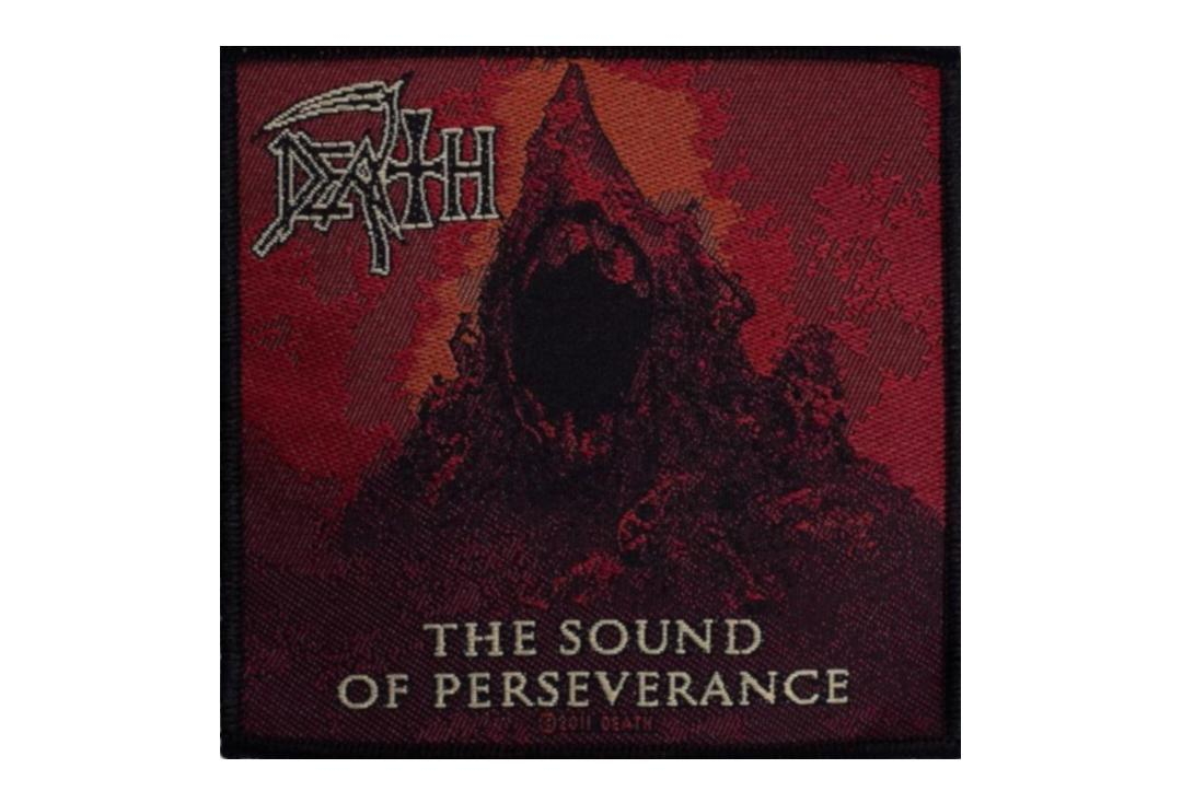 Official Band Merch | Death - The Sound Of Perseverance Woven Patch