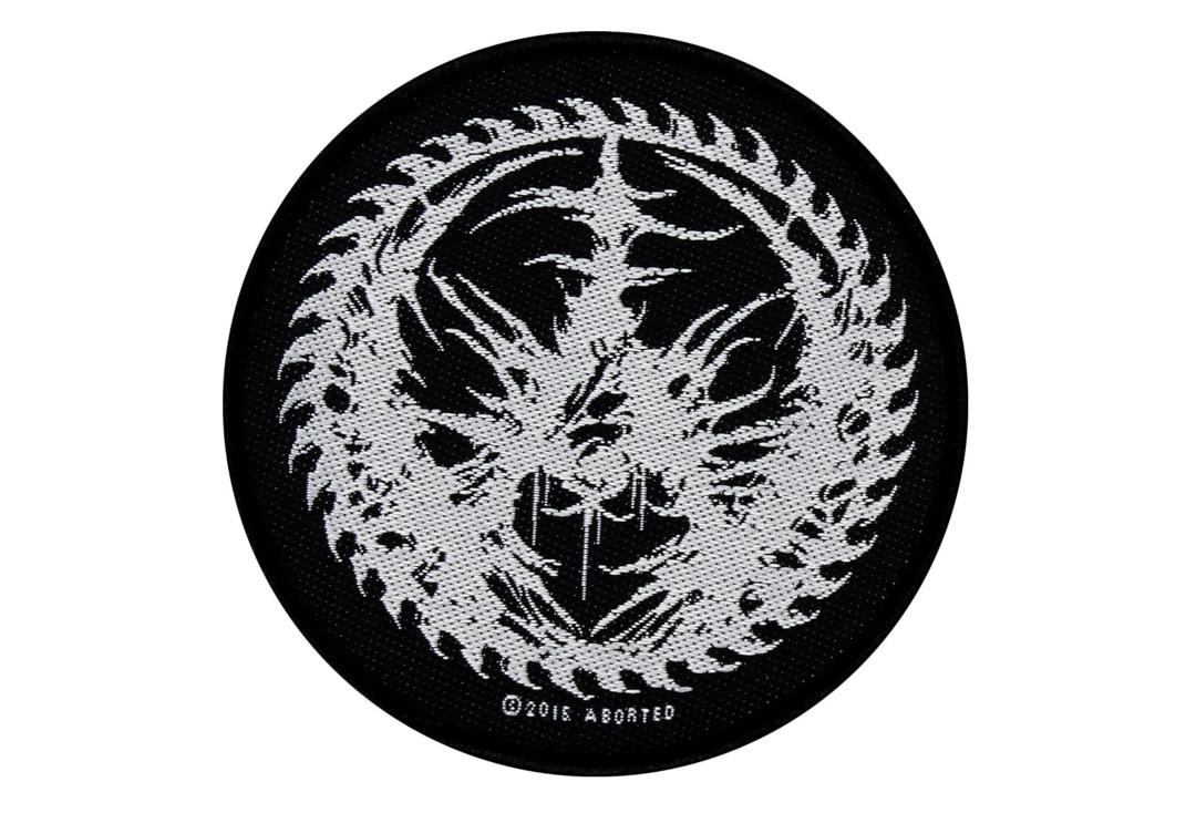 Official Band Merch | Aborted - Blade Logo Woven Patch
