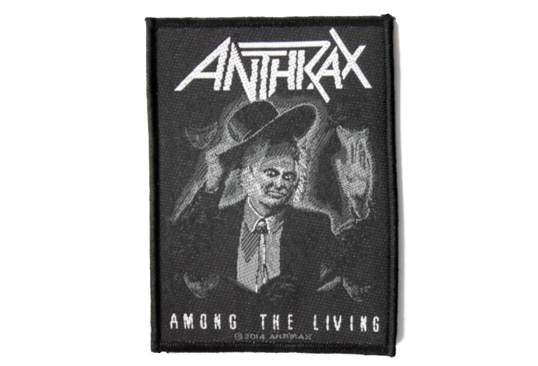 Official Band Merch | Anthrax - Among The Living Woven Patch