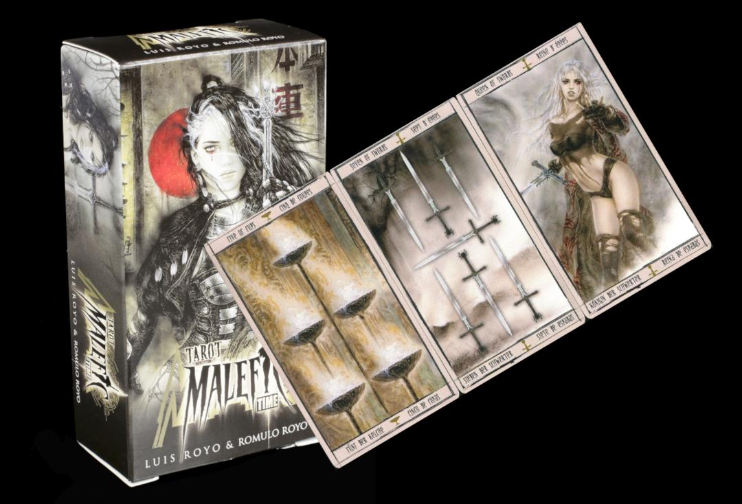 Void Clothing | Malefic Time Tarot Cards