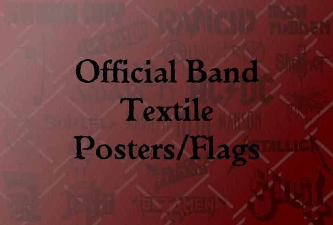 Official Textile Posters/Flags