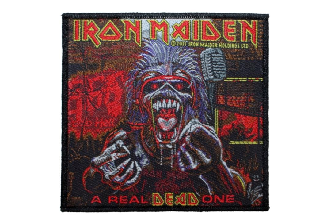 Official Band Merch | Iron Maiden - A Real Dead One Woven Patch
