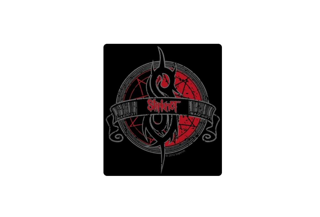 Official Band Merch | Slipknot - Crest Vinyl Sticker