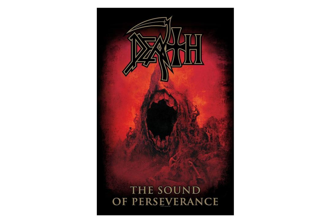 Official Band Merch | Death - The Sound Of Perseverance Printed Textile Poster